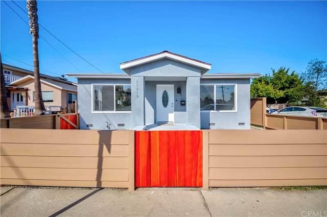 25313 Walnut Street, Lomita, CA 90717 (#SB21190089) :: Corcoran Global Living