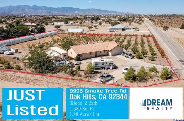 9995 Smoke Tree Road, Oak Hills, CA 92344 (#320007796) :: Corcoran Global Living