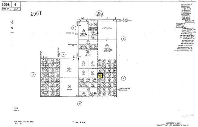 0 Vac/Vic Avenue G10/160 Ste, Lancaster, CA 93535 (#SW21211187) :: Team Tami