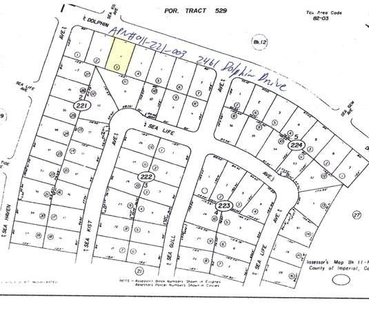 2461 Dolphin Drive, Salton City, CA 92275 (#219068007DA) :: RE/MAX Empire Properties