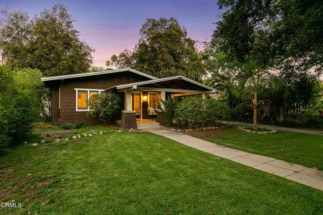 176 S San Marino Avenue, Pasadena, CA 91107 (#P1-6808) :: Team Tami