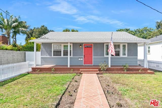11423 Braddock Drive, Culver City, CA 90230 (#21787812) :: Corcoran Global Living