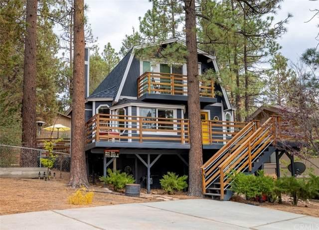 421 Northern Cross Drive, Big Bear, CA 92315 (#EV21212793) :: Corcoran Global Living