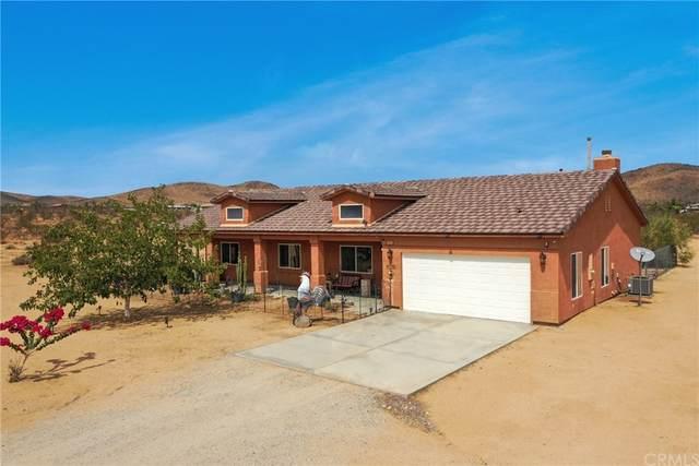 60782 Duvall Drive, Joshua Tree, CA 92252 (#PW21213439) :: The Alvarado Brothers