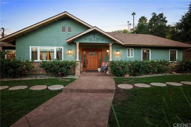9664 Wheatland Avenue, Shadow Hills, CA 91040 (#SR21213655) :: Robyn Icenhower & Associates