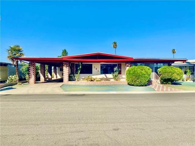 141 San Mateo Circle, Hemet, CA 92543 (#SW21209170) :: Team Forss Realty Group