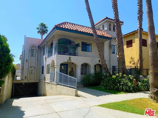 1031 N Orange Grove Avenue, West Hollywood, CA 90046 (#21788360) :: The DeBonis Team