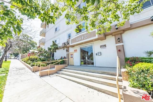 1043 S Kenmore Avenue #306, Los Angeles (City), CA 90006 (#21788324) :: The DeBonis Team