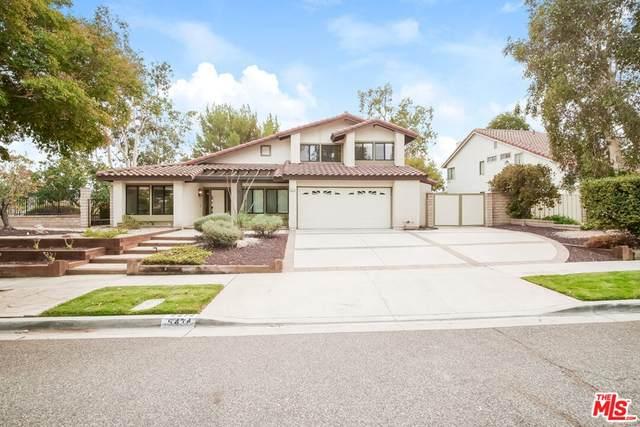 5474 Cochise Street, Simi Valley, CA 93063 (#21787910) :: Blake Cory Home Selling Team