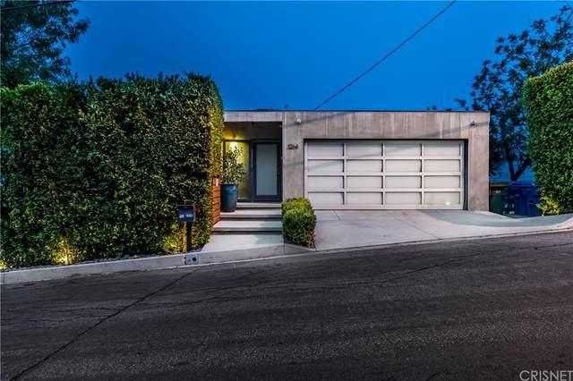 3264 Wrightwood Drive, Studio City, CA 91604 (#SR21211805) :: The Najar Group