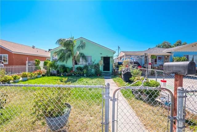 4734 E 57th Street, Maywood, CA 90270 (#CV21213966) :: Bathurst Coastal Properties