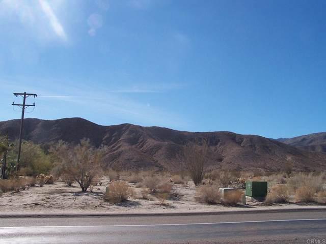 0 Palm Canyon, Borrego Springs, CA 92004 (#NDP2111174) :: RE/MAX Empire Properties