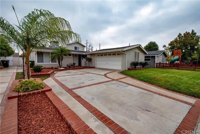 10983 Mascarell Avenue, Mission Hills (San Fernando), CA 91345 (#SR21216793) :: The Kohler Group