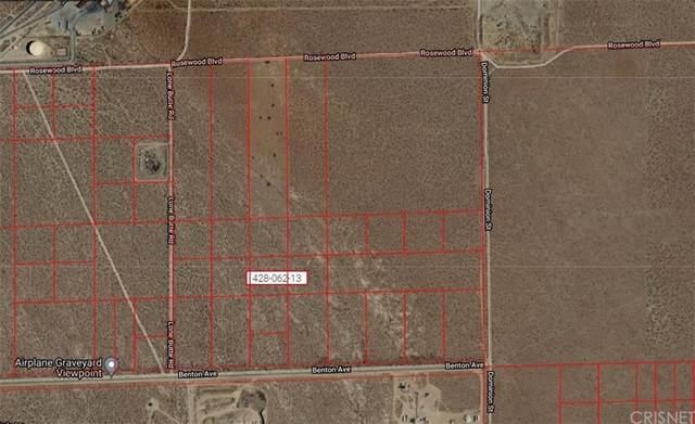 0 Lone Butter Rd/Benton Avenue, Mojave, CA 93501 (#SR21211203) :: Team Tami
