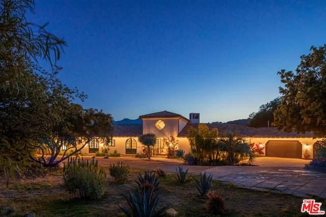 21540 Hillside Drive, Topanga, CA 90290 (#21788668) :: Blake Cory Home Selling Team
