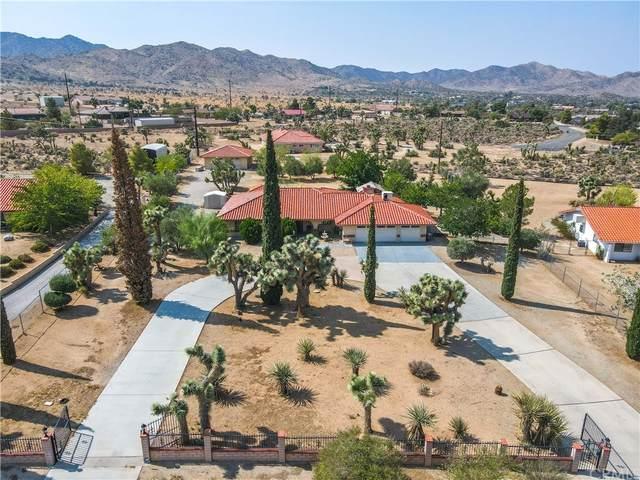 58449 Joshua Lane, Yucca Valley, CA 92284 (#JT21211787) :: Compass