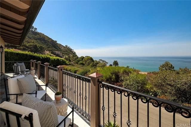 1020 Palos Verdes Drive W, Palos Verdes Estates, CA 90274 (#SB21217800) :: Blake Cory Home Selling Team