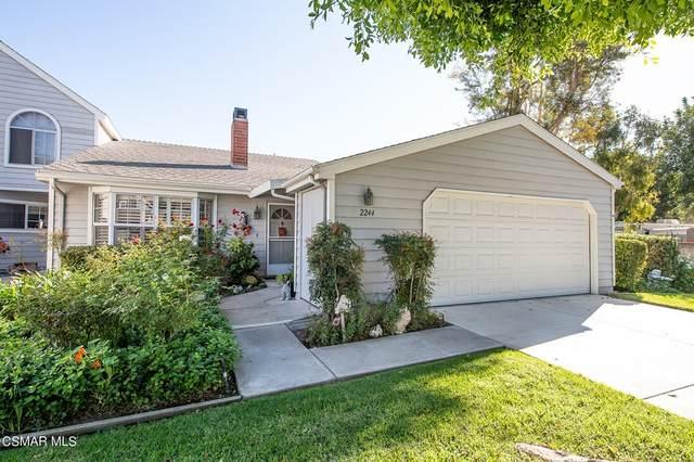 2244 Calle Bellota, Camarillo, CA 93010 (#221005372) :: Mainstreet Realtors®