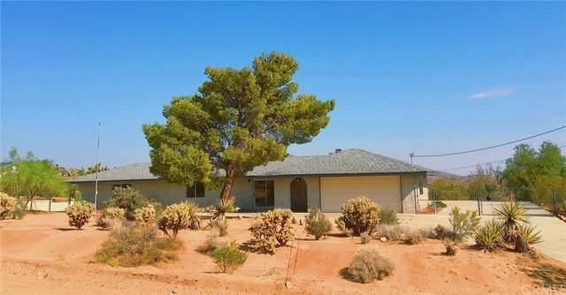 61584 Pueblo Trail, Joshua Tree, CA 92252 (MLS #TR21218471) :: ERA CARLILE Realty Group