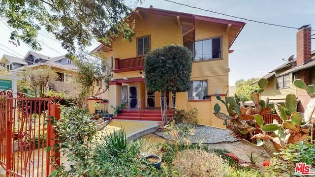 927 W Kensington Road, Los Angeles (City), CA 90026 (#21790808) :: RE/MAX Masters