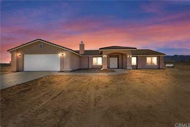 345 Solano Road, Pinon Hills, CA 92372 (#IG21205498) :: A|G Amaya Group Real Estate