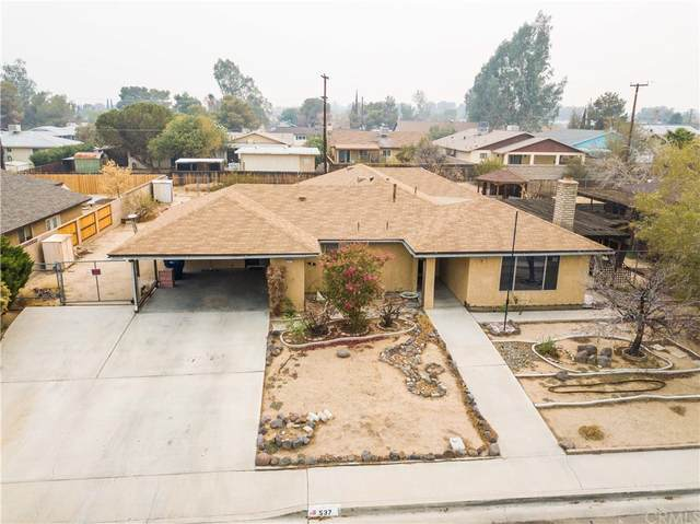 537 W Joyner Avenue, Ridgecrest, CA 93555 (#IV21216167) :: Blake Cory Home Selling Team