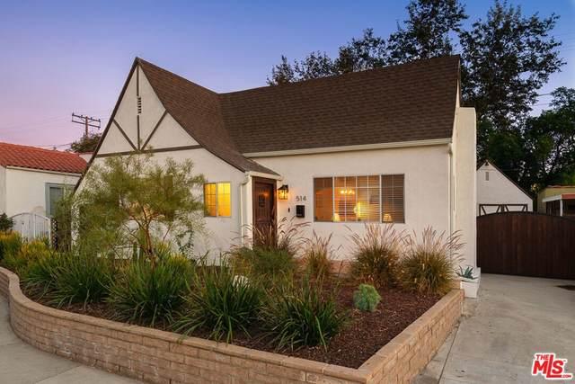 514 E Chestnut Street, Glendale, CA 91205 (#21790536) :: Blake Cory Home Selling Team