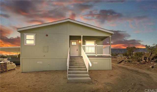 10715 Mountain Road, Pinon Hills, CA 92372 (#IG21221369) :: A|G Amaya Group Real Estate