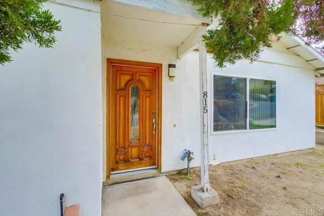 815 Beacon Drive, San Diego, CA 92114 (#PTP2107014) :: Blake Cory Home Selling Team