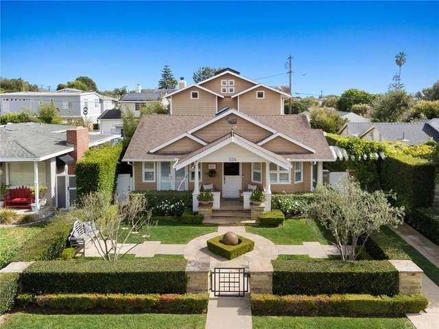 524 Redlands Avenue, Newport Beach, CA 92663 (#NP21220640) :: Necol Realty Group