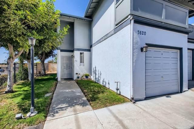 7620 Stalmer St #101, San Diego, CA 92111 (#PTP2107039) :: RE/MAX Empire Properties