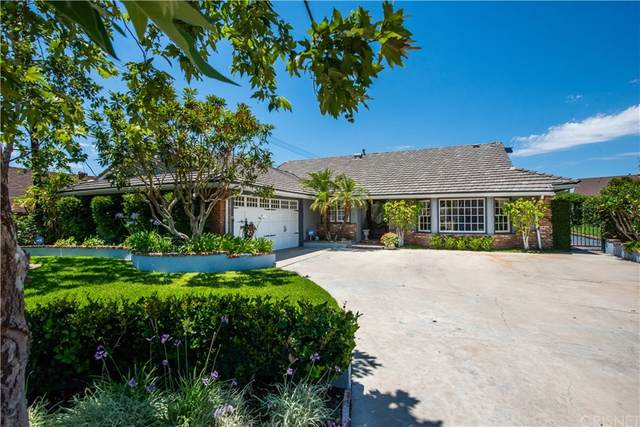 12281 Woodley Avenue, Granada Hills, CA 91344 (#SR21223178) :: Necol Realty Group