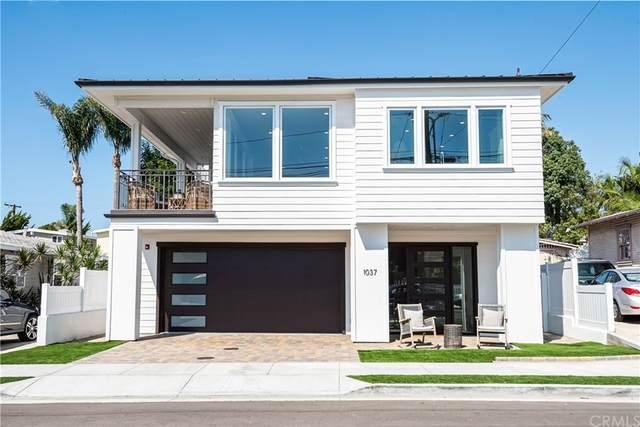 1037 2nd Street, Hermosa Beach, CA 90254 (#SB21216255) :: Blake Cory Home Selling Team