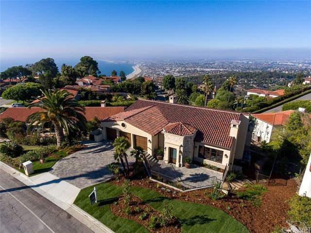 916 Via Del Monte, Palos Verdes Estates, CA 90274 (#SR21214282) :: Millman Team