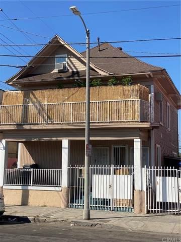1309 S Oxford Avenue, Los Angeles (City), CA 90006 (#CV21222351) :: RE/MAX Empire Properties