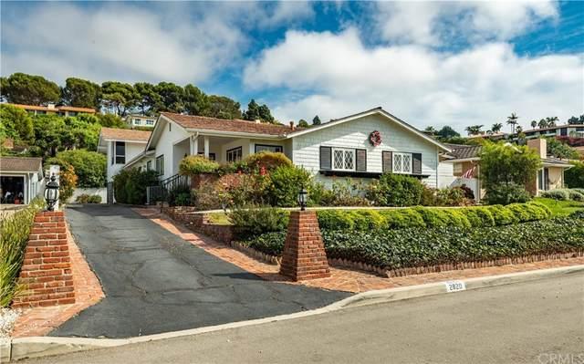 2820 Via De La Guerra, Palos Verdes Estates, CA 90274 (#PV21224574) :: RE/MAX Masters