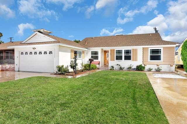 7752 Glassport Avenue, Canoga Park, CA 91304 (#SR21222155) :: Compass