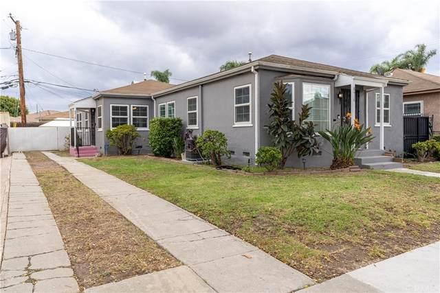 8416 Byrd Avenue, Inglewood, CA 90305 (#SB21226389) :: RE/MAX Empire Properties
