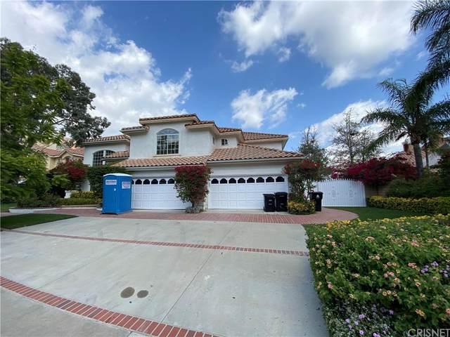 12652 Classics Drive, Granada Hills, CA 91344 (#SR21226219) :: Zen Ziejewski and Team
