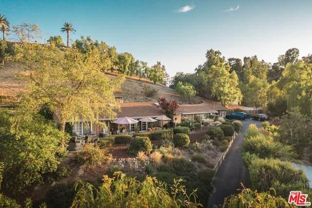 4973 Brewster Drive, Tarzana, CA 91356 (#21794360) :: Blake Cory Home Selling Team