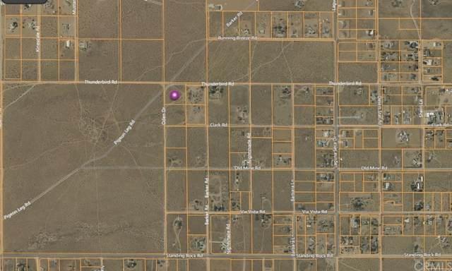 0 Thunderbird Road, Apple Valley, CA 92307 (#EV21227060) :: Necol Realty Group