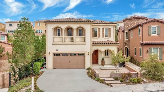 20500 W Lantana Court, Porter Ranch, CA 91326 (#SR21221117) :: Blake Cory Home Selling Team
