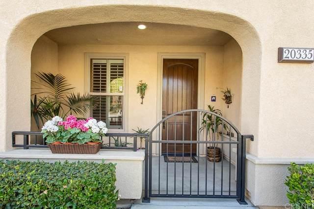 20335 Paseo Meriana, Porter Ranch, CA 91326 (#SR21227210) :: Necol Realty Group