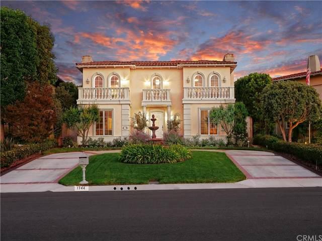 1744 Paseo Del Mar, Palos Verdes Estates, CA 90274 (#SB21226846) :: Millman Team