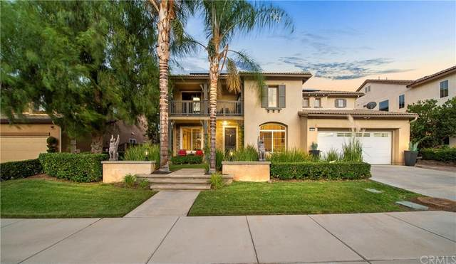8581 Camino Limon Road, Corona, CA 92883 (#SW21225474) :: Necol Realty Group