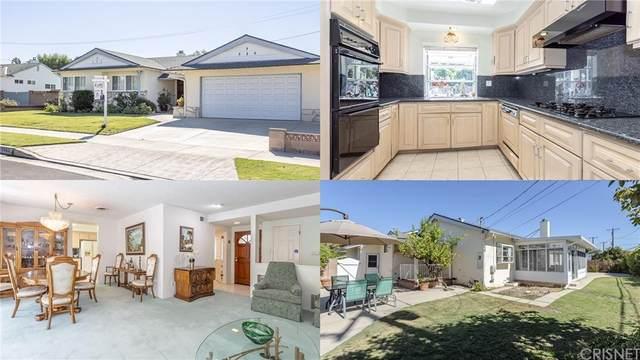 17928 Tulsa Street, Granada Hills, CA 91344 (#SR21227207) :: Necol Realty Group
