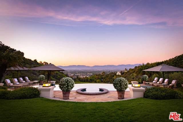 14035 Aubrey Road, Beverly Hills, CA 90210 (#21795236) :: Compass