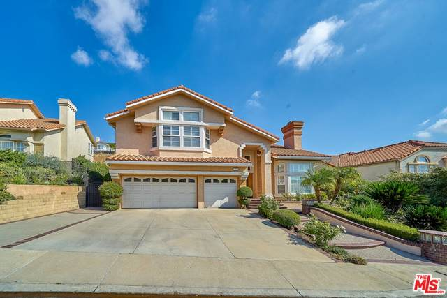 19725 Falcon Crest Way, Porter Ranch, CA 91326 (#21795354) :: Blake Cory Home Selling Team