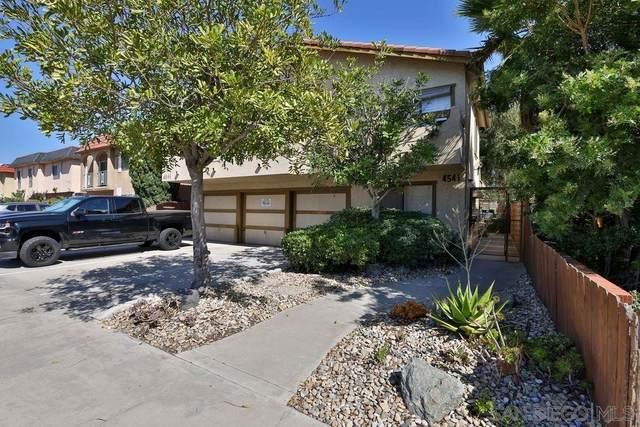 4541 Utah St #6, San Diego, CA 92116 (#210028880) :: Blake Cory Home Selling Team