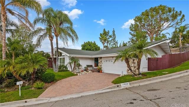 17223 Midwood Drive, Granada Hills, CA 91344 (#SR21227339) :: Necol Realty Group